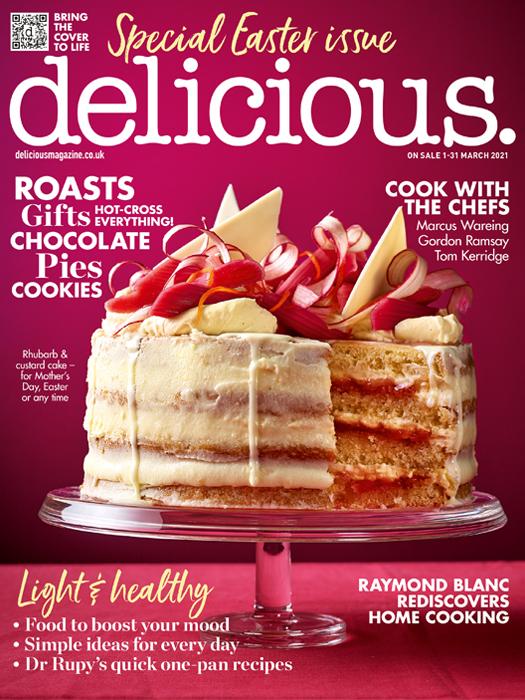 March delicious. cover